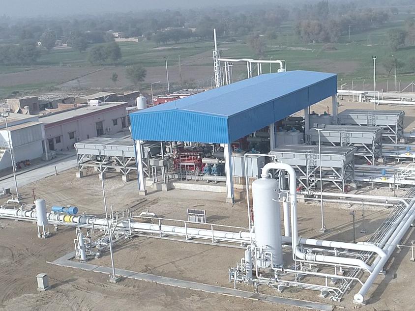 Genco120 Mmscfd Gas Compression Station