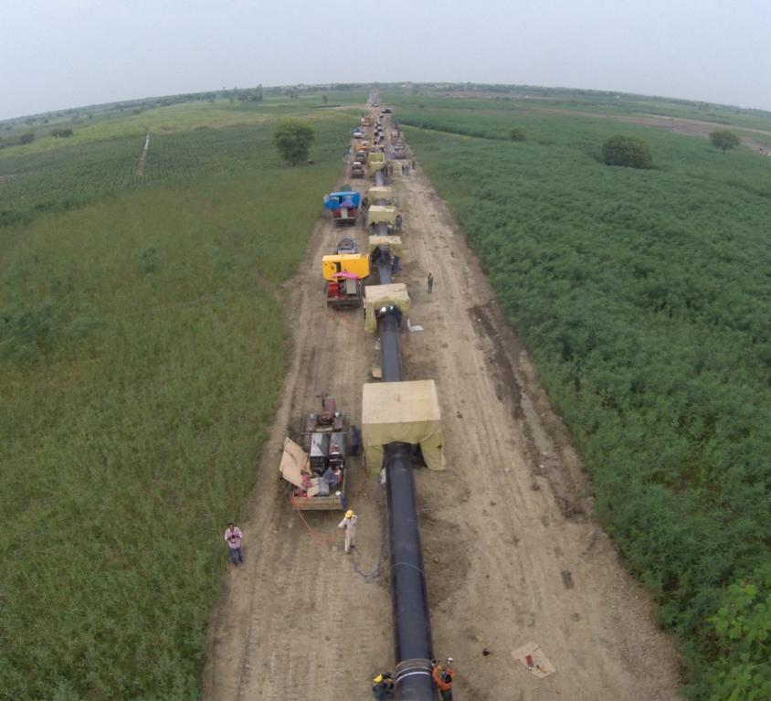 Pipeline Construction, SSGC HQ-3