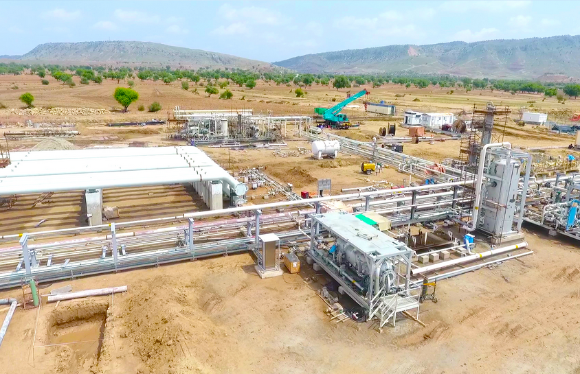 Relocation of 30 Mmscfd Gas Processing Facility
